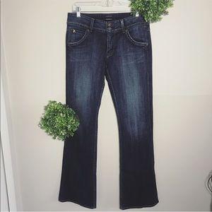 Hudson boot cut jeans size 30